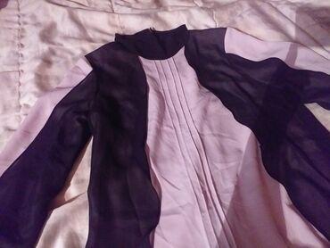 Haljina st - Srbija: Lepršava haljinica, tunika,obučena svega par puta. Moze se nositi sa