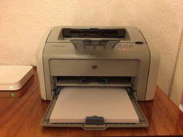 Принтер HP LaserJet 1020. Состояние отличное. в Бишкек