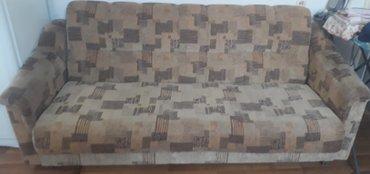 Продаю диван б/у длина 210 ширина 130, состояние хорошие, механизмы вс в Бишкек