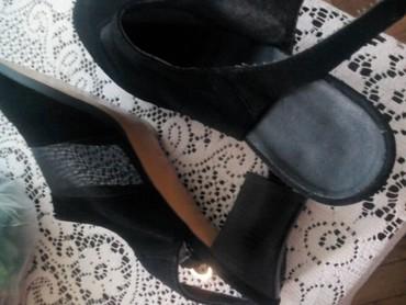 Sandale crne , salonke 40   - Belgrade