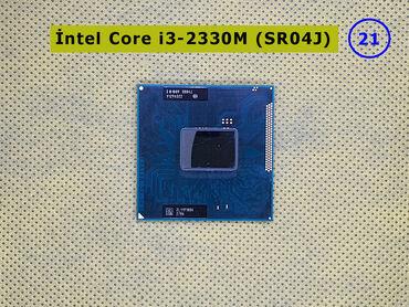 Intel Core i3-2330M (SR04J)➤ Noutbuk üçün prosessor➤ 3 Мb keş, 2,20