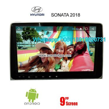 Hyundai Sonata 2018 Car audio radio android GPS navigation camera in Kathmandu