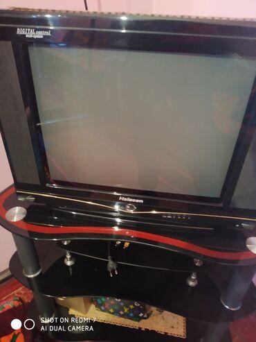 телевизор век в Кыргызстан: Продаю телевизор с подставкой состояние хороший