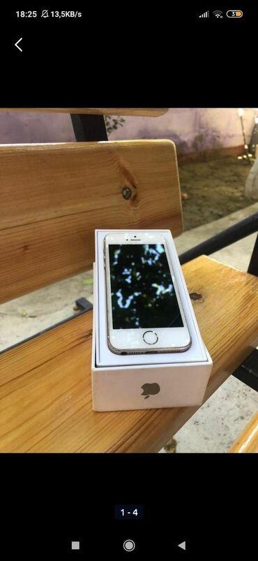 iphone 5 gold - Azərbaycan: Iphone 5 s gold,16 gb yaddas,karobkasiorginal adaptiri var,chox az
