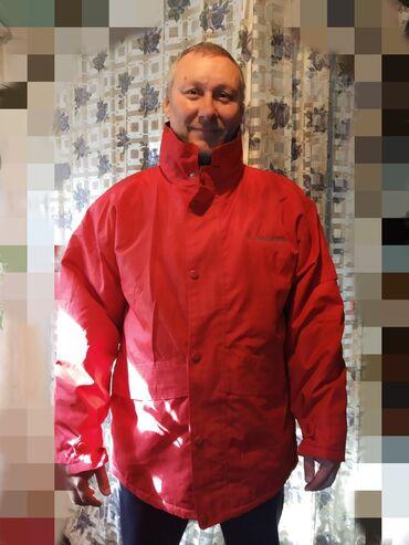 Куртка мужская с капюшоном,новая,ткань плотная,подклад флис, размер
