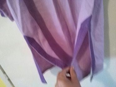 Tunika za krupnije dame od lana,prelepo stoji,nije nosena - Sombor - slika 7