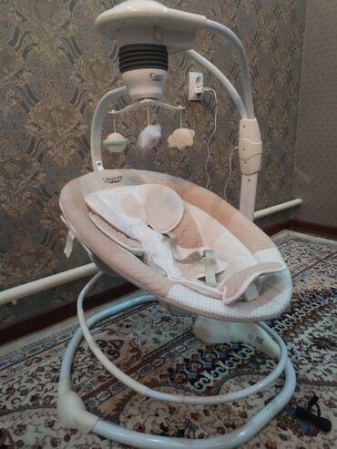 скамейка качалка в Кыргызстан: Продаю люлку-качалкуДля новорожденных до 6 месЕсть режим музыки и