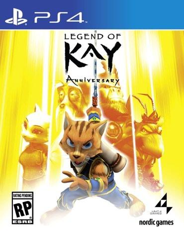 Bakı şəhərində Ps4 ucun Legend of Kay oyunu teze upokovkada orginal catdirilma pulsuz
