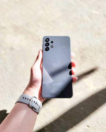 Электроника - Чаек: Samsung Galaxy A32 | 64 ГБ | Черный | Гарантия, Сенсорный, Отпечаток пальца
