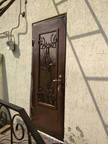 Дверь входная металическая с остеклением. Тел в Бишкек