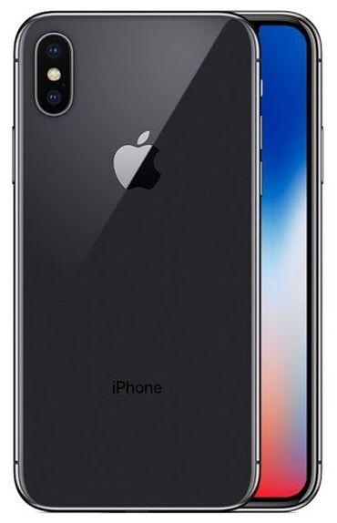 Мобильные телефоны и аксессуары - Кыргызстан: Новый iPhone X 64 ГБ Черный