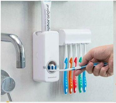 Ostalo za kuću | Kovilj: Novo drzac za pastu i cetkicu za zube . brzo i lako postavljanje bez