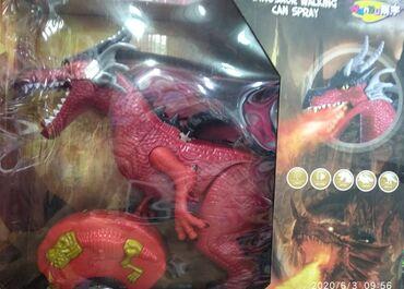 konstruktor drakon - Azərbaycan: Qırmızı əjdaha pult ilə idarə olunanКрасный дракон с пультом