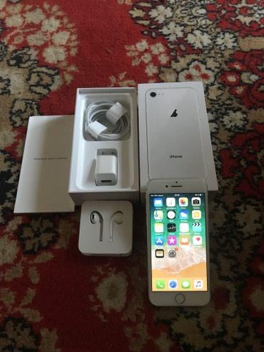 Iphone 8/64 silver полный комплект состояние идеал  в Бишкек