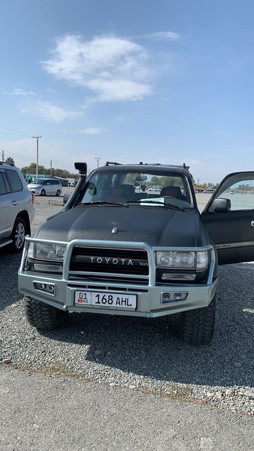 Toyota Land Cruiser 4.2 л. 1994 | 340 км