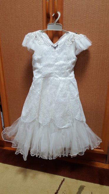 Платье нарядное на 5 лет б/у в Бишкек