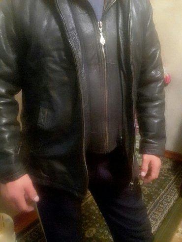 продаю  куртку 100% кожа  натуралный мех в хорошем  состоянии в Бишкек