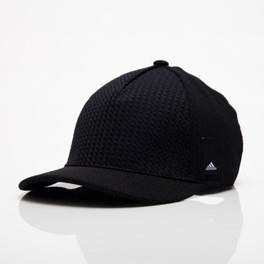 Adidas Z.N.E. Logo S16 Perforated  бейсболка черный  в Бишкек