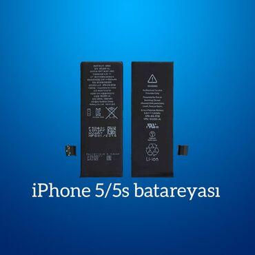 """Enerjiyükləyicilər - Azərbaycan: """"Apple iPhone 5/5s"""" batareyası"""