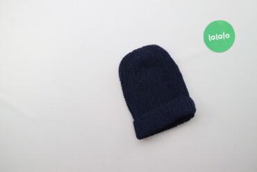Дитяча в'язана шапочка    Напівобхват голови: 20 см Висота: 25 см  Ста