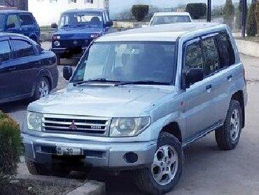 İşlənmiş Avtomobillər Yardımlıda: Mitsubishi Pajero Pinin 1.8 l. 1998 | 350000 km