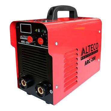 Сварочный аппарат ALTECO ARC 200 служит для получения неразъемного