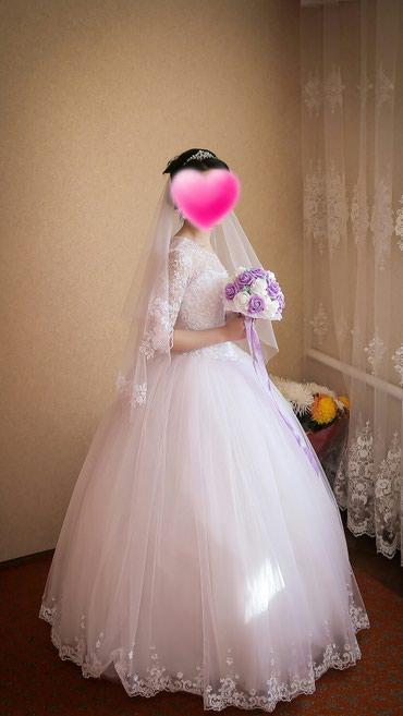 Продам свадебные платье. новый один раз одетый. в Бишкек