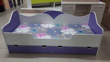 Односпальные кровати - Кыргызстан: Кровать детский ( подростковый)  Размер 1.70*0.70  В наличии  При жела