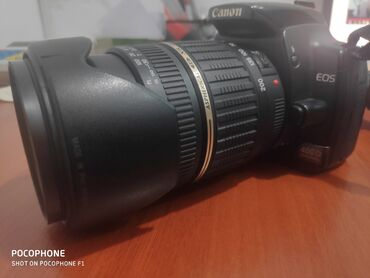 Видеокамера флешка - Кыргызстан: Продаю фотоаппарат Canon EOS 400D в отличном состоянии в комплекте
