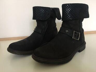 Kozne cipele - Srbija: IKKS KOŽNE ČIZME br. 33 - 34 S obzirom da je u Srbiji brend IKKS nepoz
