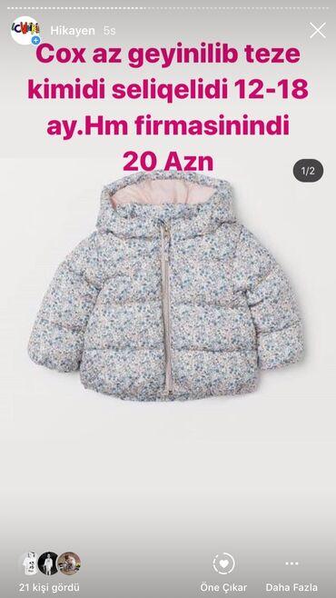Uşaqlar üçün digər geyimlər - Azərbaycan: Hm firmasidi seliqeli ve az işlenib.Tertemizdir 12-18 ay