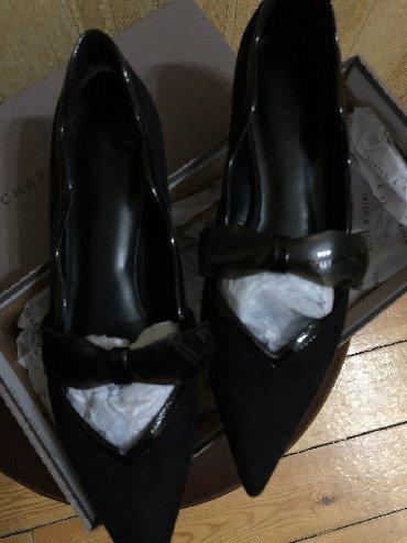 laklı qadın baletkaları - Azərbaycan: Baletka uzunburun. 60 manat 2 defe geyinilib. Charles&Keith