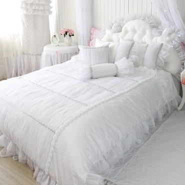 декоративные наволочки на подушки в Кыргызстан: Постельное белье для брачной ночи должно быть особенным,как и все в