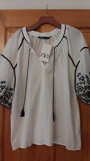 Рубашки и блузы в Кыргызстан: Zara рубашка L размер