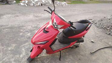 Motosiklet və mopedlər - Zaqatala: Skuter Mondial 3 ayindir 3100 manata alinib.tuning olunub 80