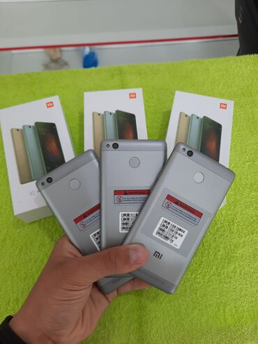 Xiaomi Redmi 3S | 16 ГБ | Новый | Гарантия, Сенсорный, Отпечаток пальца