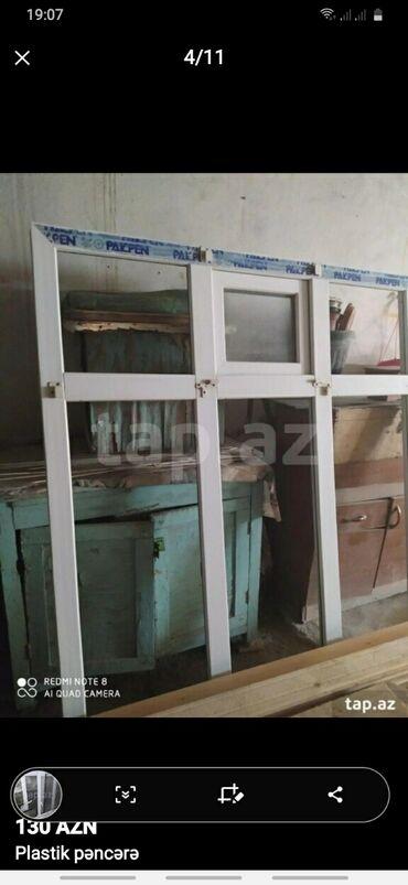 pencere - Azərbaycan: Plastik pencere hec bir siniqi qiriqi yoxdu hundur ve enlidi wuweleri