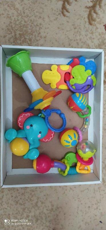 столовая для кукол в Азербайджан: Погремушки для младенцев.в хорошем состоянии