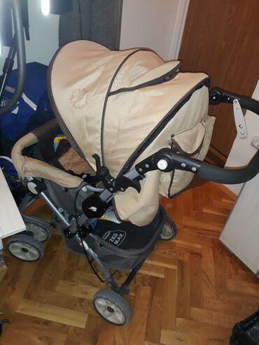 Za decu - Srbija: Na prodaju dobro ocuvana kolica za bebe, Pier Cardin, sa zimskom