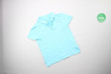 Топы и рубашки - Голубой - Киев: Підліткова однотонна футболка Demix, зріст 140 см    Довжина: 47 см Ши