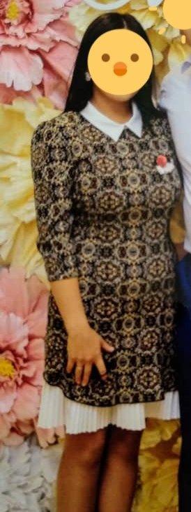 Платье стреч, размер 44. два раза было одето. производство Турция. в Бишкек