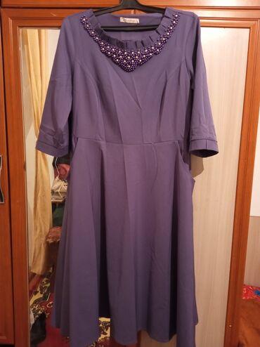 женское платье 52 в Кыргызстан: Срочно продаю платье женское 500с 52 размера