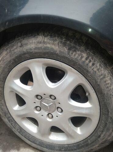 hr s в Кыргызстан: Продаю или меняю диски с резиной от s класса 220 кузов не вареные не