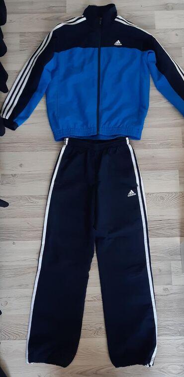 Dečija odeća i obuća - Vladicin Han: ADIDAS dečja trenerka za dečake, veličina M, malo nošena