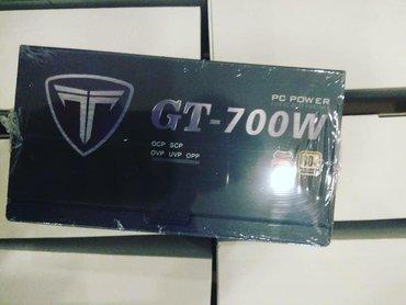 Enerji mənbələri Azərbaycanda: *&Titan GT 700w Qida bloku GTX video kartları üçün nəzərdə