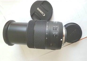 Продаю объектив canon 18-135 usm NANO в идеальном состоянии. в Бишкек