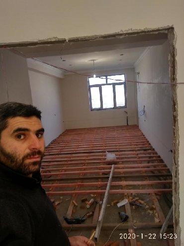 Работа за границей в Азербайджан: Ev tamir ediram har nov Pol vurlmasi mansard yığılması damları vurulma