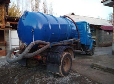 Откачка септиков и продувка канализации. Ёмкость 6 м3 г. Жалал-Абад