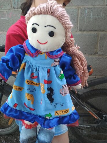 оюнчуктар в Кыргызстан: Два в одном : Кукла Катя и рюкзак для самых маленьких принцесс