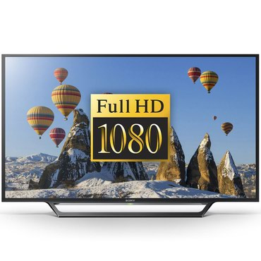 Телевизор Sony KDL-48WD653 Smart TV 48 Full HD черный в Бишкек